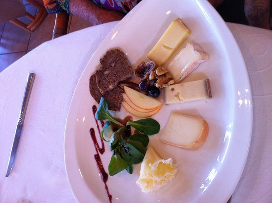 Restaurant Belvedere: fromages choisis