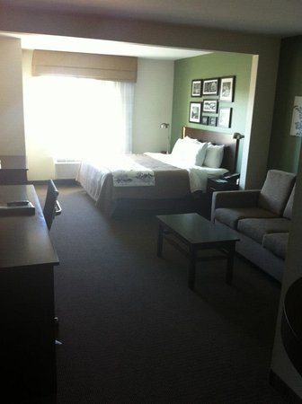 Sleep Inn & Suites Evergreen: King Suite