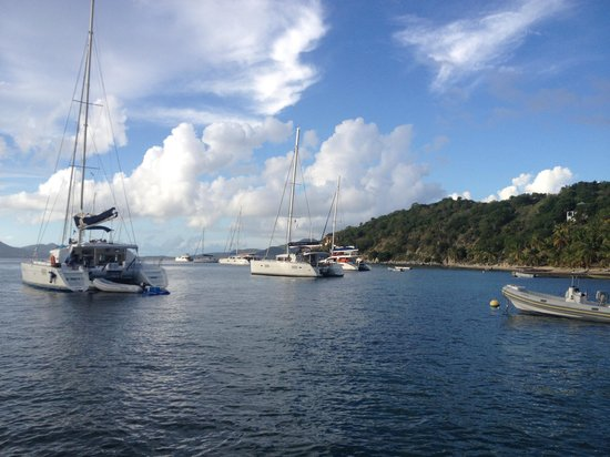 Cooper Island : Moorings