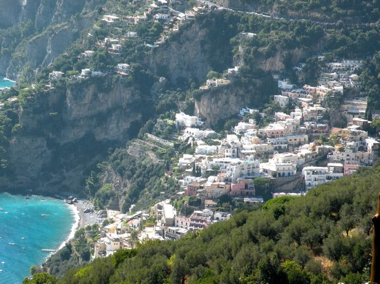 Your Tour in Italy by Aldo Monti : View of Positano