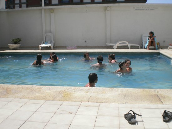 Gran Hotel Fontainebleau: Pequeña pero acogedora, ideal para los niños!!!!