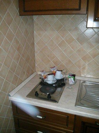 Hotel Euro House Inn: Kitchen