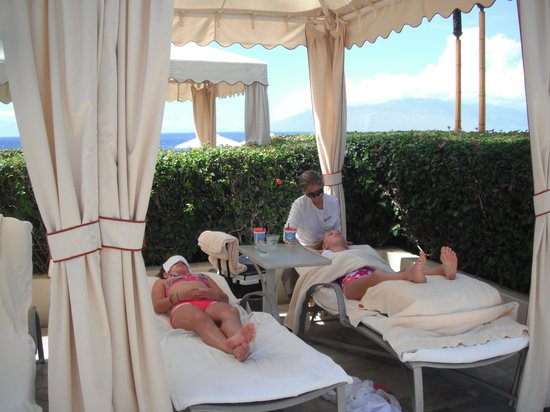 The Spa at Four Seasons Resort Maui: Such fun for the keiki