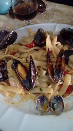 Trattoria Pizzeria La Campagnola : sempre ottima la cucina di filippo.....