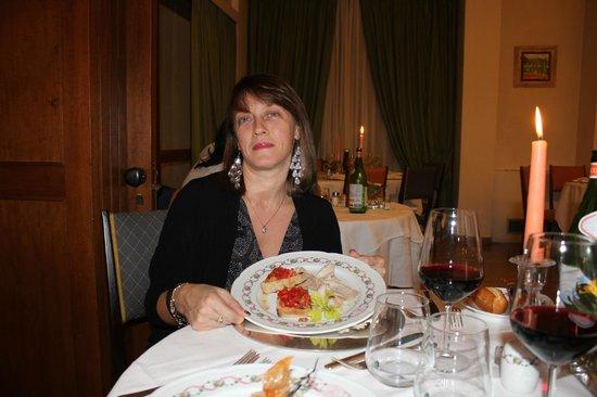 Grand Hotel Tamerici & Principe : cena a lume di candela