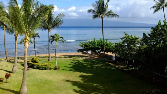 Aston Kaanapali Shores: View from 1st room, seems very secluded!
