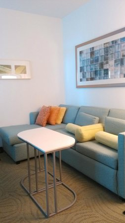 SpringHill Suites Houston Baytown: Living Room - Sofa Bed (pull-out)