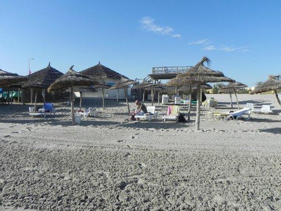 Joya Paradise : La petite plage privée de l'hôtel