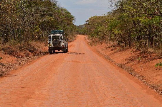 Central African Wilderness Safaris Chelinda Lodge: The road to Chelinda