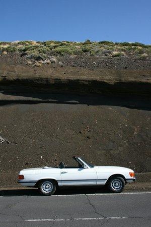 Classic Car Experience: Cañadas contrast