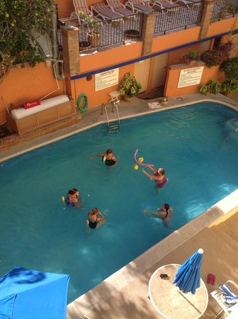 Las Gaviotas Resort: acqua-yoga