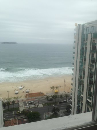 Golden Tulip Ipanema Plaza: Vista do ultimo andar (Fitness e Coffee)
