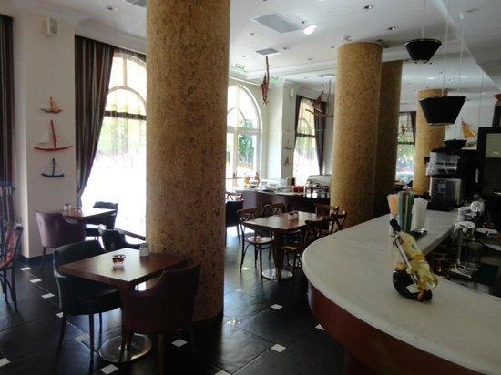 Athens Lotus Hotel : Speisesaal