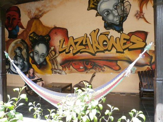 Lazybones Hostal : Hammock-Time