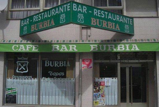 Restaurante Burbia: Entrada