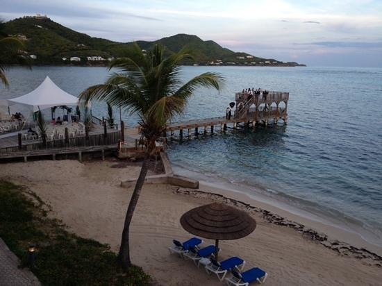 Divi Carina Bay All Inclusive Beach Resort: View from our room - Divi