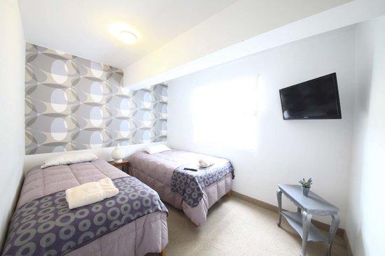 Pucllana Lodge: habitacion con baño incorporado
