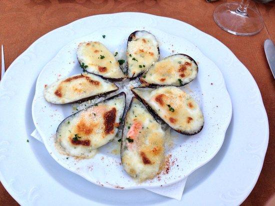 O Salmao: mussels