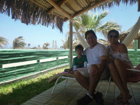 Vichayito Bungalows & Carpas by Aranwa: en la entrada a nuestra carpa