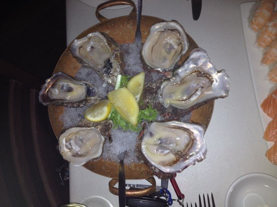 Lord Prawn Bryanston: Awesome oysters at Lord Prawn