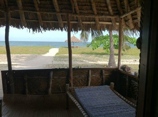 Emayani Beach Lodge: view from the bungalow