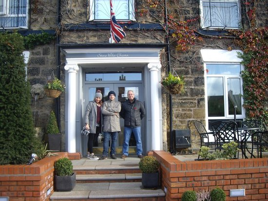 Chester Stone Villa : ready for a days sightseeing