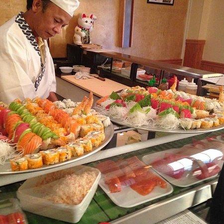 Uchi Sushi & Hibachi: Owner & head chef Johnny