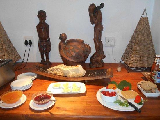 Baleens : Détail petit déjeuner