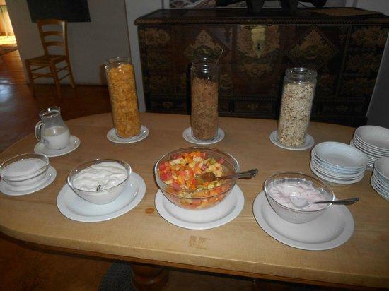 Baleens: Détail petit déjeuner