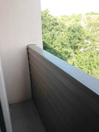 Grand Hilton Head Inn: Tiny balcony