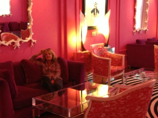 The g Hotel Galway : The Pink Room