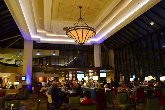 San Francisco Airport Marriott Waterfront: ristorante interno