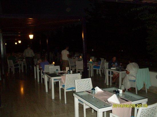 Rixos Downtown Antalya: на ужине