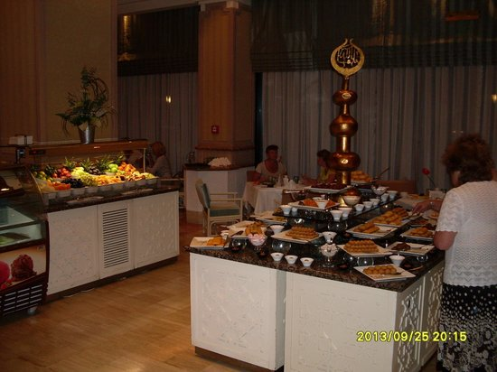Rixos Downtown Antalya: ужин