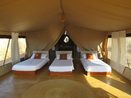 Ecoscience Science Center and Luxury Lodge : notre spacieuse tente en famille