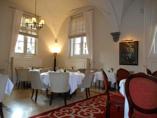 Hotel Dukes' Palace Bruges: salle a manger