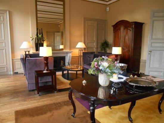 Hotel Dukes' Palace Bruges: salon