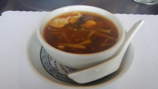 Silver Dragon Restaurant: Sweet and Sour Soup