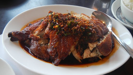 Silver Dragon Restaurant: Fried Chicken in Chili Soya Sauce