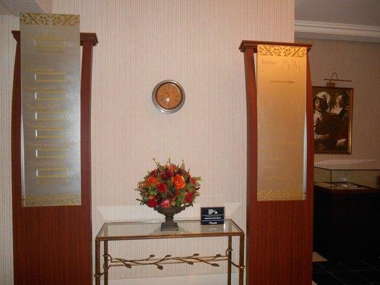 Hotel Dukes' Palace Bruges: hall
