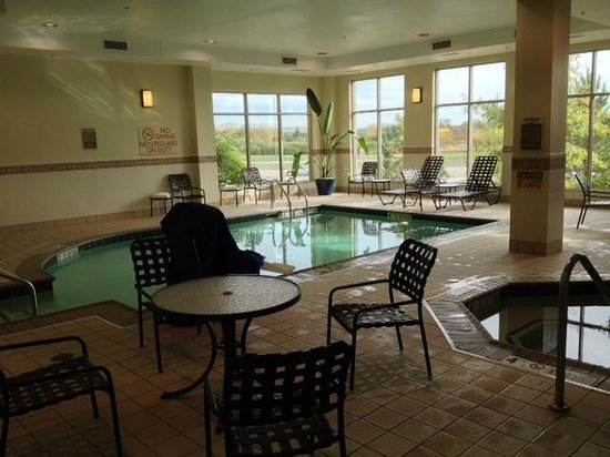 Hilton Garden Inn Lake Forest Mettawa: Pool