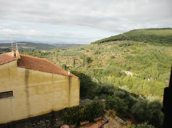 Palazzo Brandano: View toward surrounding countryside