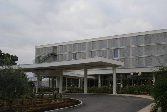 Solaris Hotel Ivan: Eingangsansicht Haupteingang