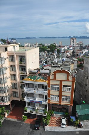 Asean Hai Ngoc Hotel : view from our room.