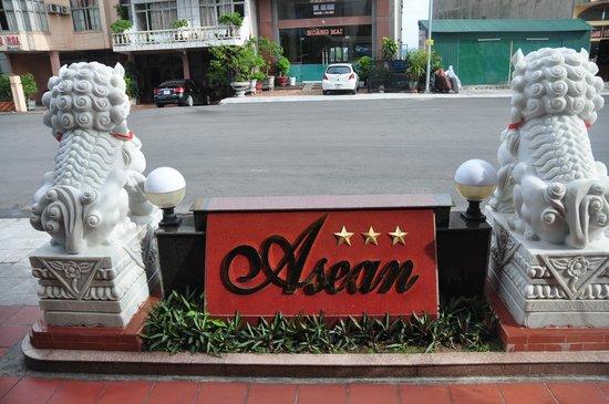 Asean Hai Ngoc Hotel : outside the hotel