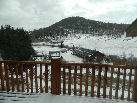 Beaver Meadows Resort Ranch: From our room at the Lodge