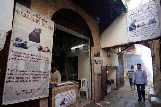 L'ingresso del Berrada Family restaurant
