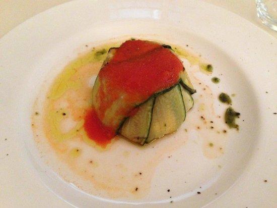 Castello di Montignano Relais & Spa : tortino di zucchine