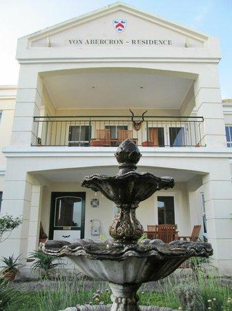 Von Abercron Residence : Entrance