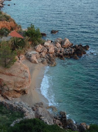 Villa pod borom: Nearby beach